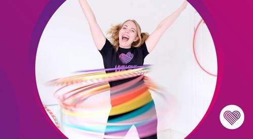 Hula hooping for kids