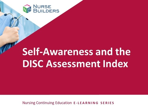 Self-Awareness and the DISC Assessment Index
