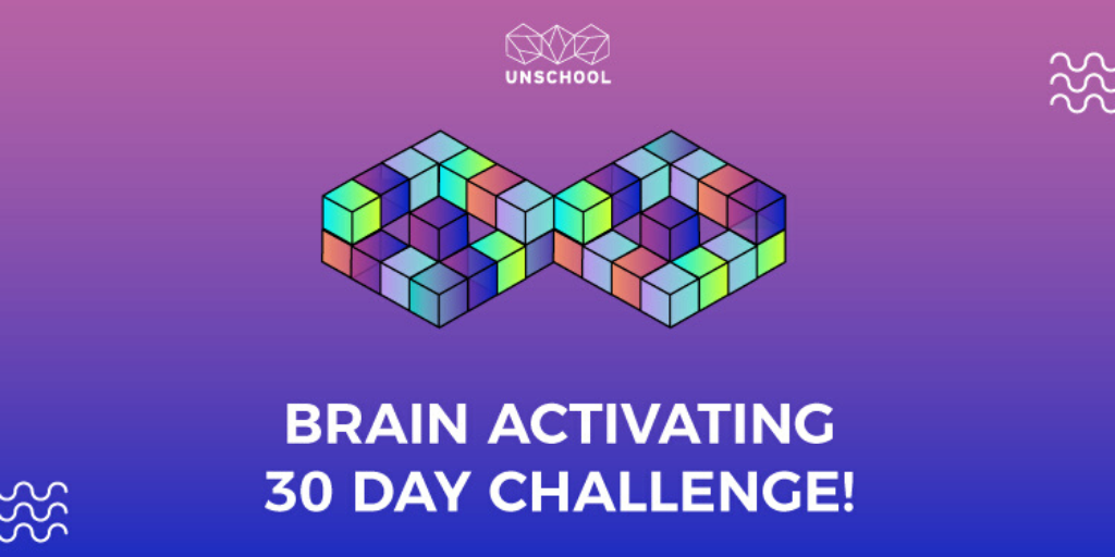 Stay Positive Brain Activating 30 Day Challenge
