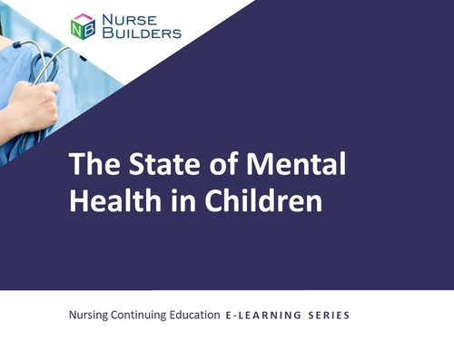The State of Mental Health in Children