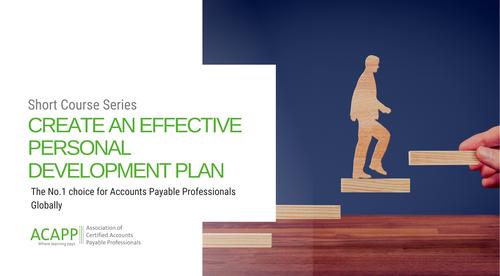 Create an effective personal development plan