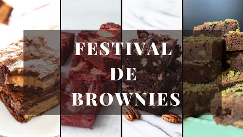 Recetario Festival de Brownies