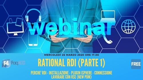 Webinar Faq400 - Rational Rdi - Introduzione