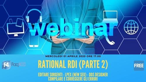 Webinar Faq400 - Rational Rdi - Editor - DDS Design - Compilazione