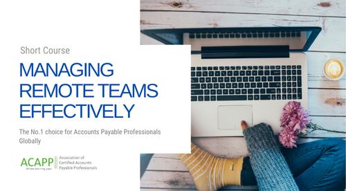 Managing Remote Teams Effectively