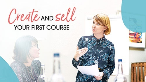 Create and sell your first course