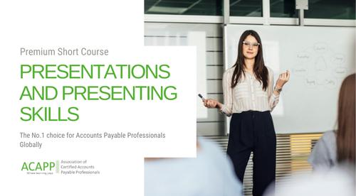 Presentations and Presenting Skills