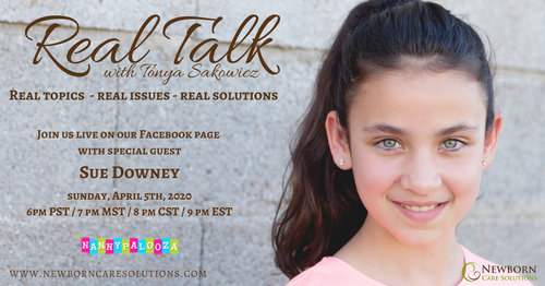 Real Talk with Sue Downey from Nanny Palooza