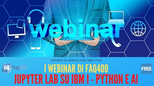 Webinar Faq400 - Jupyter Lab e IBM i