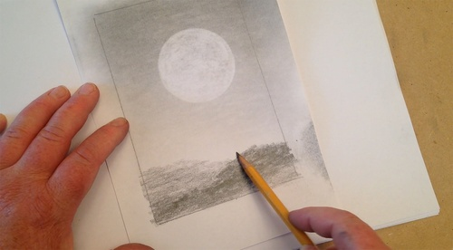 Painting with Pencils: A Landscape Art Scene Tutorial