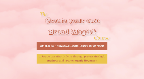Create your own Brand Magick