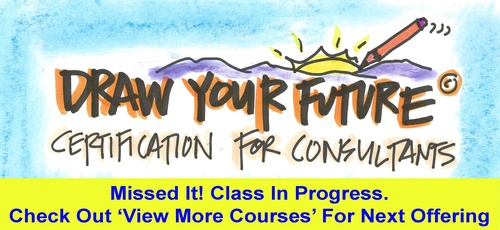 Draw Your Future Certification for Consultants - Starting  Nov 4th, 2020 at 7:30am CST