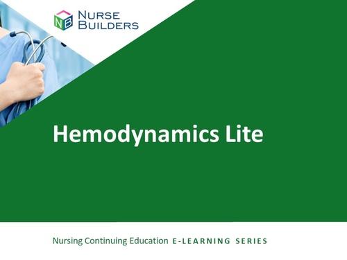 Hemodynamics Lite