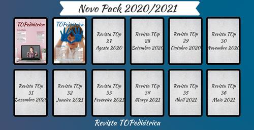 Pack 12 Edições 2020/2021 - Revista TOp