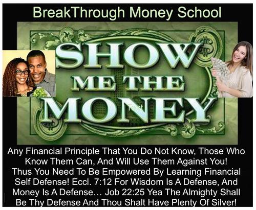 Breakthrough Money School Webinar