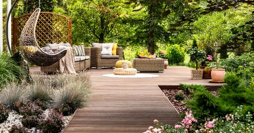 Sinu aed terrassil