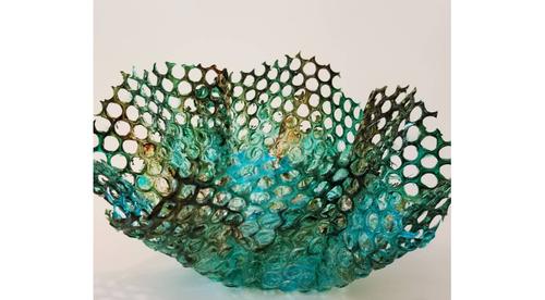 Textured Epoxy Sculptures