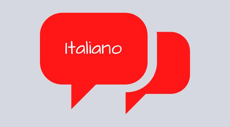 Italian Intermediate  Conversation - JUNE 2020 - Friday