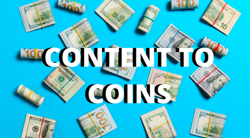 Content To Coins