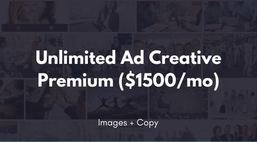 Unlimited Ad Creative Premium (Images + Copy)
