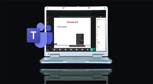 Training Virtually via Microsoft® Teams® (webinar waiting list)
