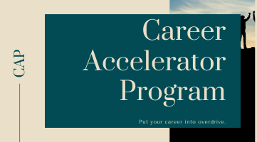 Career Accelerator Program (CAP) September 2020