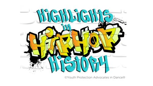 YPAD Highlights of Hip Hop History Webinar Replay