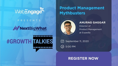 Demystifying Product Management Myths for Practitioners: Workshop by Anurag Gaggar, Director of PM @Expedia.