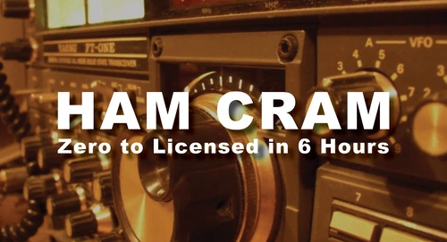The Ham Cram: Ham Radio Zero to Licensed in 6 Hours