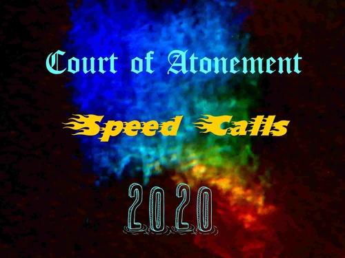 Speed Calls 2020