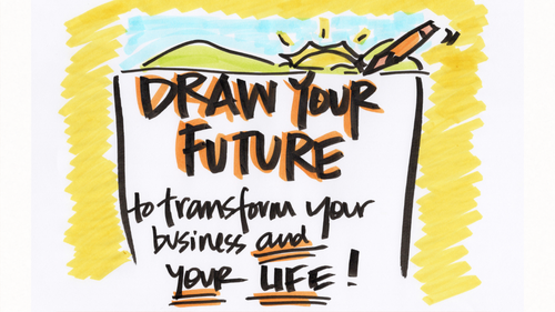 Draw Your Future to Transform Your Business and Your Life! Next Class February 2, 2021 - 7:30AM or 7:30PM CST