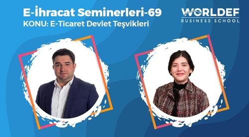 Webinar 69   Bircem Özekici - E-İhracat Devlet Teşvikleri