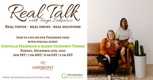 Real Talk with Chevelle Frederick and Alexis Courtney-Torres