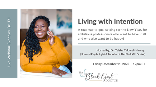 Living with Intention: A roadmap to goal setting for the New Year