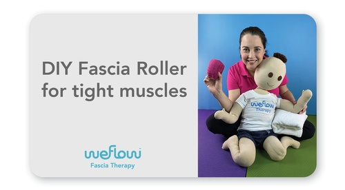 DIY Fascia Roller for tight muscles