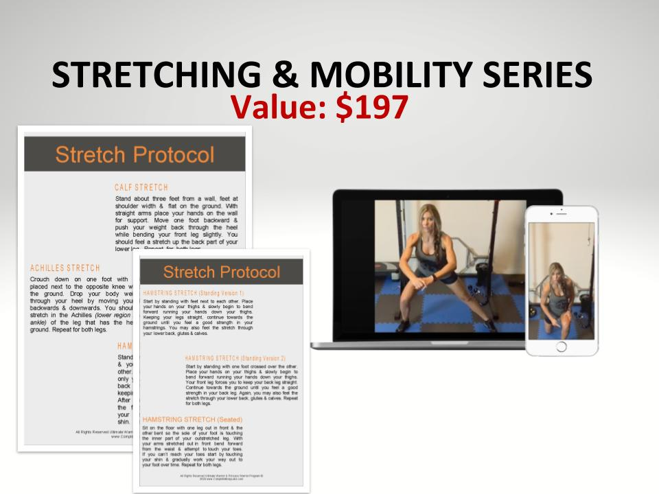 STRETCHING & MOBILITY SERIES VALUE $197