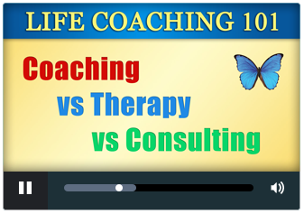 Coaching vs therapy vs consulting
