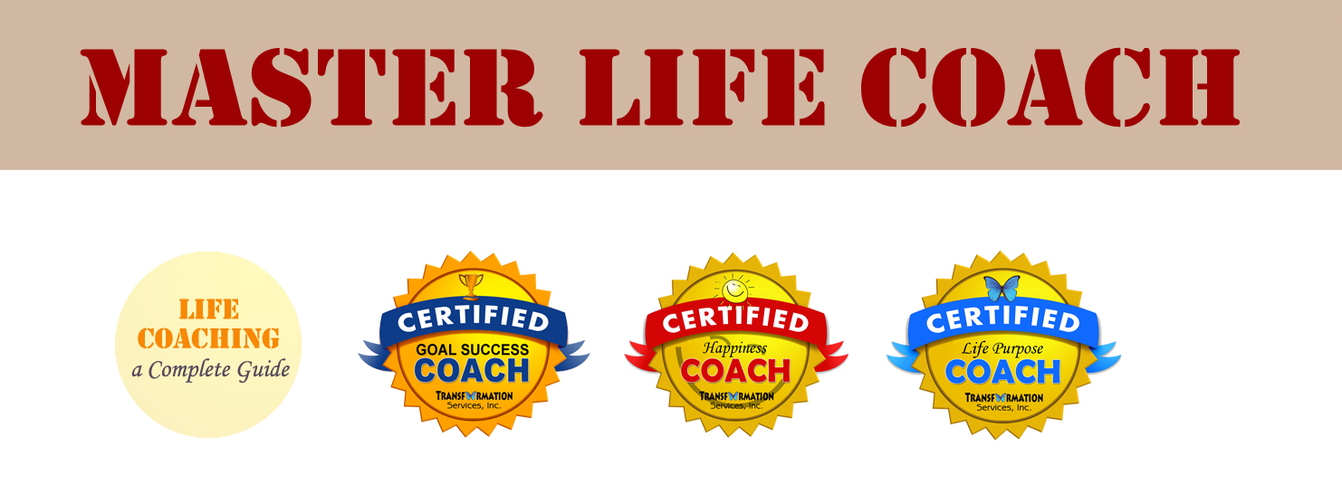 Master life coach certification and training program the master life coach certification provides a complete life coaching training program and 3 done for you life coaching packages xflitez Images