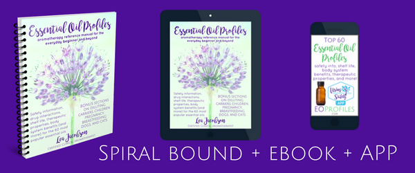 Essential oil profiles spiral bound us only spiral bound book orders you will need to email me the mailing address you wish this book to be sent to please include your full name fandeluxe Choice Image