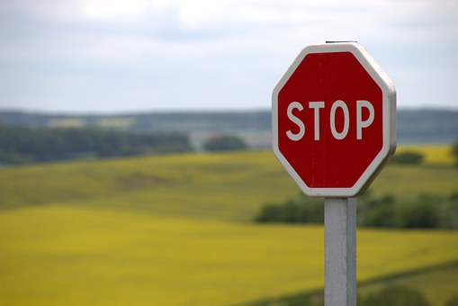 Stopp skilt