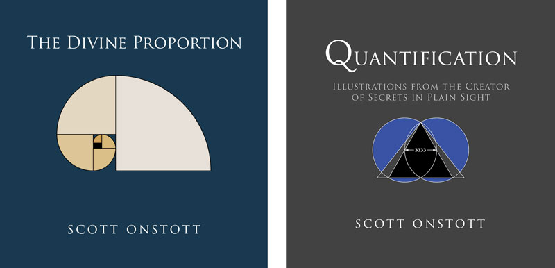 books covers of The Divine Proportion and Quantification