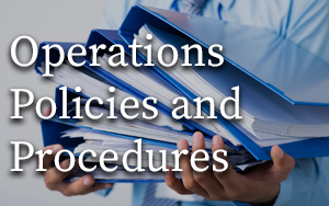 Operations Policies and Procedures