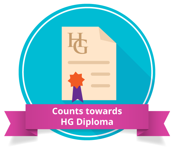 Counts towards the HG Diploma