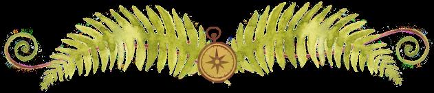 fern compass border