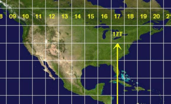 UtmNorthAmerica coordinates