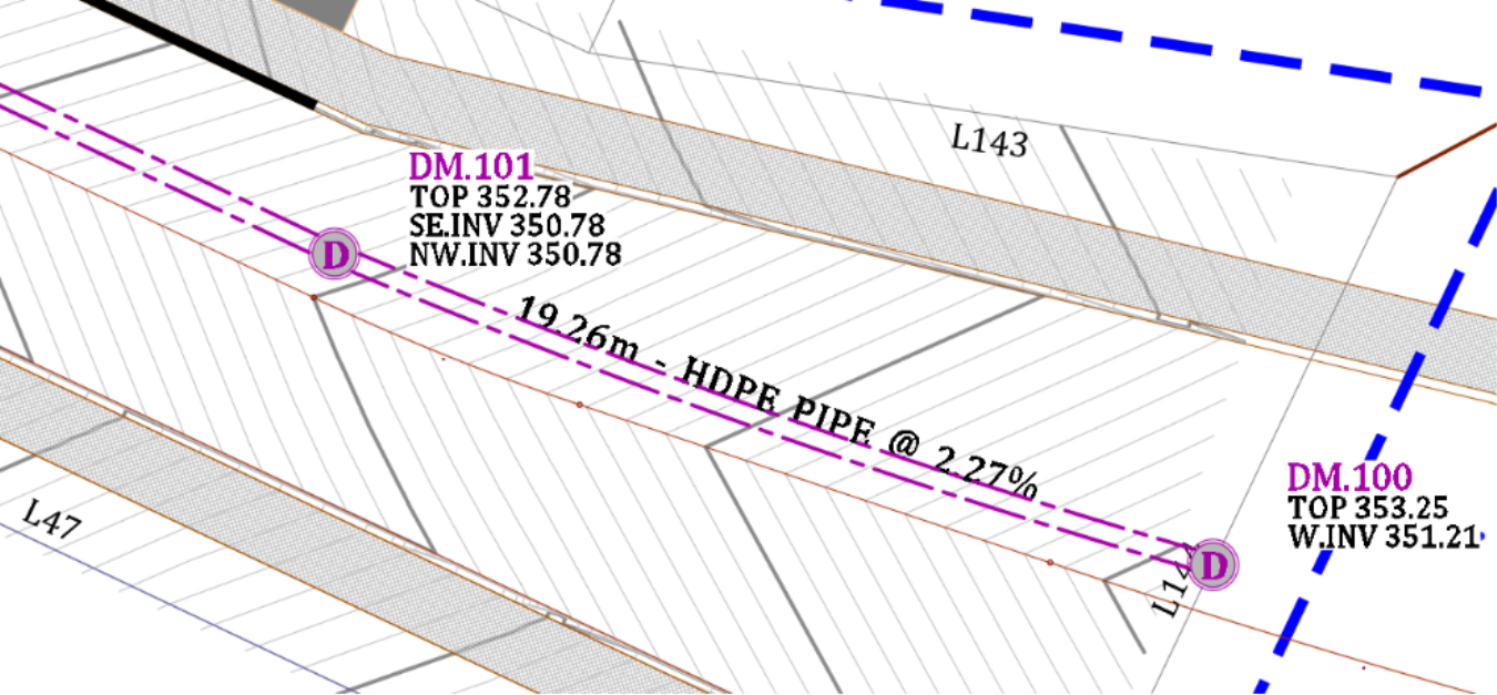 Rename Civil 3D Pipes and Structures plan
