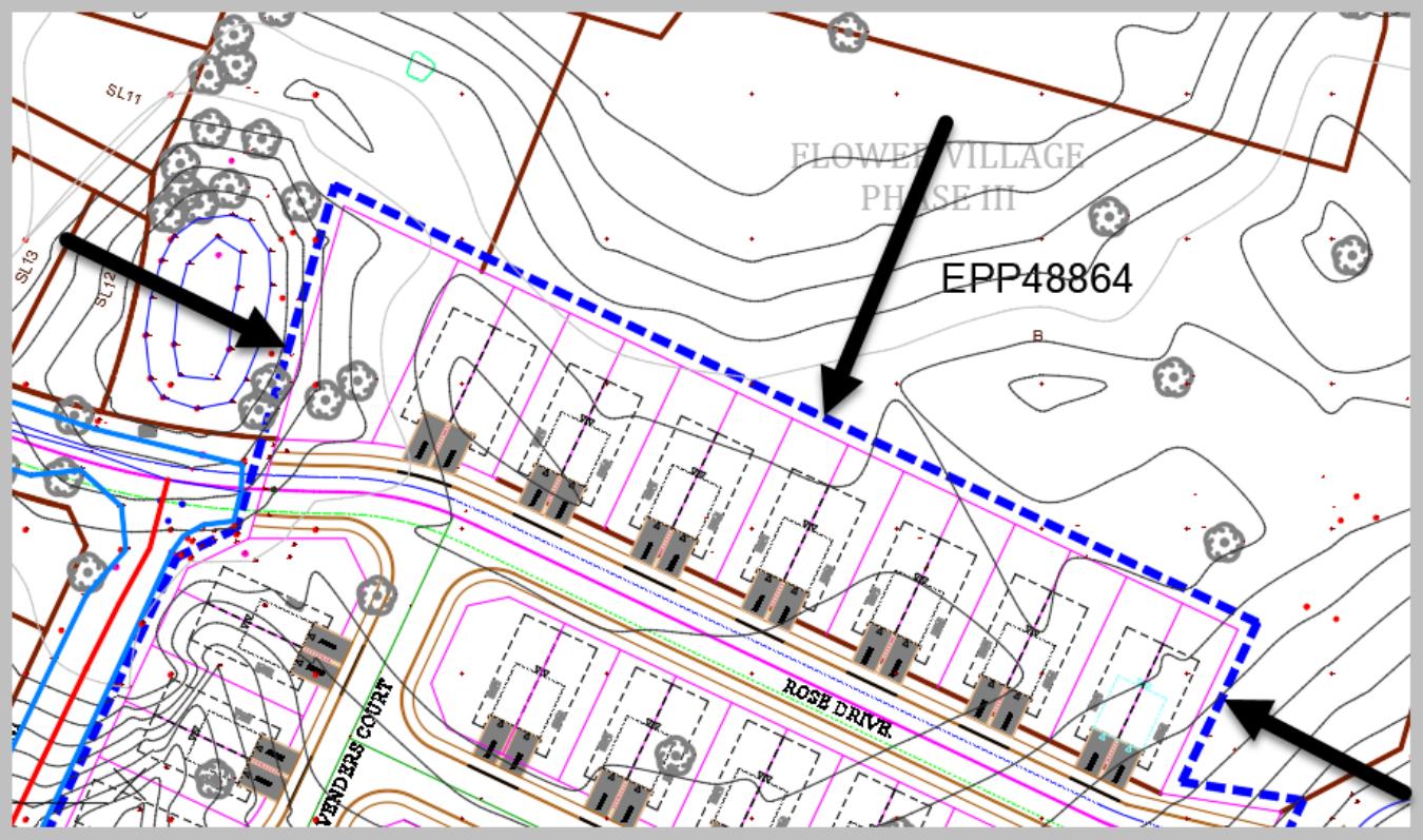 Civil 3D surface Boundary 3