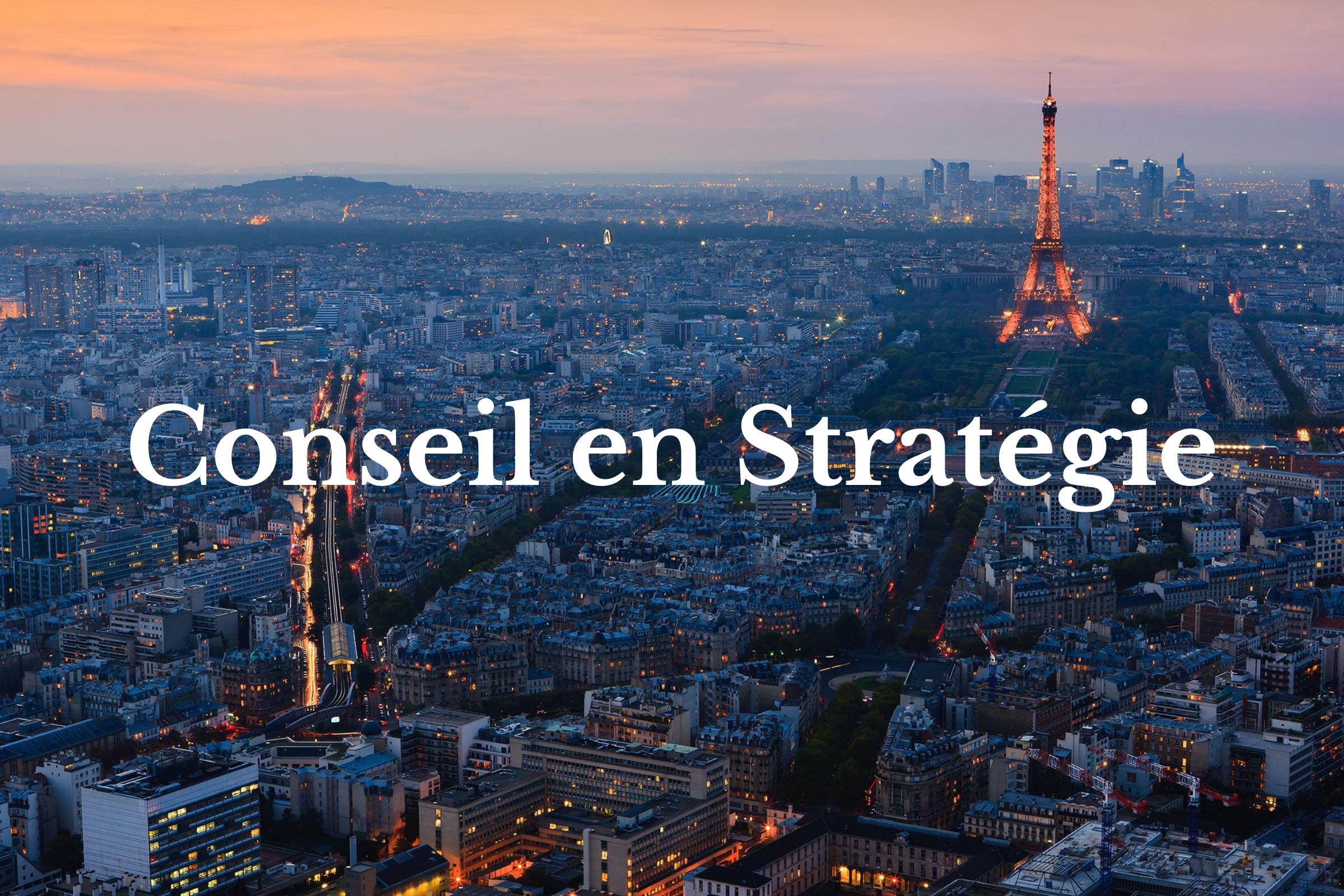 Conseil en strategie