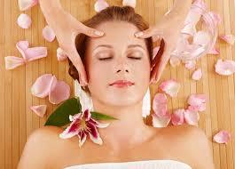 Indian facial massage