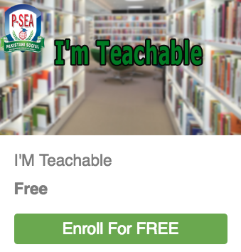 I'M Teachable Enroll for FREE
